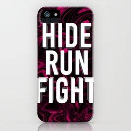 "ABSTRACT LIQUIDS ""54"" HRF iPhone Case"