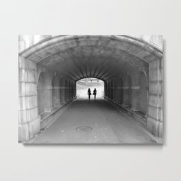 End of the tunnel  Metal Print