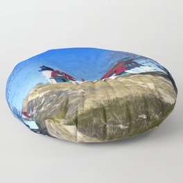 Point Betsy Lighthouse Floor Pillow