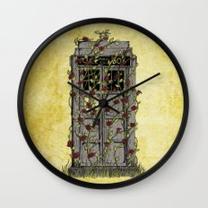 Rose- Doctor Who Wall Clock