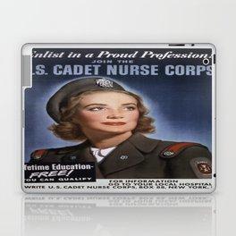 Vintage poster - U.S. Cadet Nurse Corps Laptop & iPad Skin