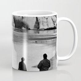 Retro USA Alaska Mendenhall glacier Juneau 1970 Coffee Mug