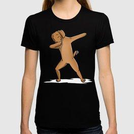 Funny Dabbing Vizsla Dog Dab Dance T-shirt