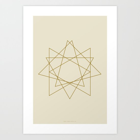 Geometric No.1 Art Print