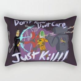 Surviving the Downpour Rectangular Pillow