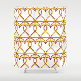 Love and games. Hearts or Spades Shower Curtain
