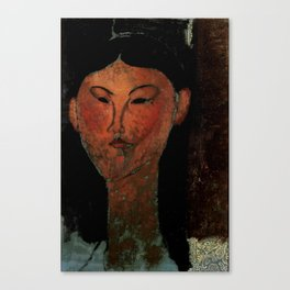 "Amedeo Modigliani ""Beatrice Hastings"" (1915) Canvas Print"