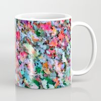 blanket Mugs featuring Autumn Blanket by Angela Pesic