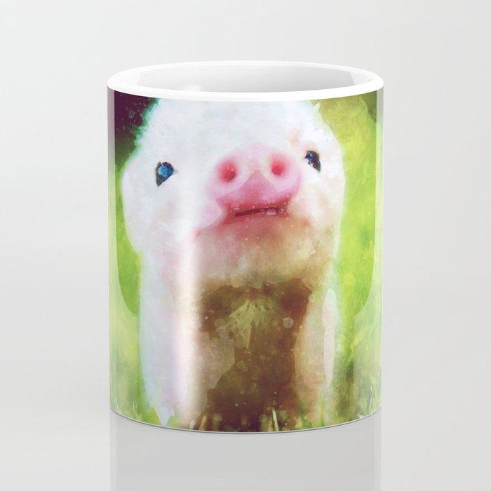 CUTE LITTLE BABY PIG PIGLET Coffee Mug