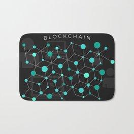 Cool Bitcoin crypto currency block chain Bath Mat