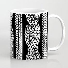 Cable Black Coffee Mug