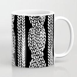 Cable Black Coffee Mug
