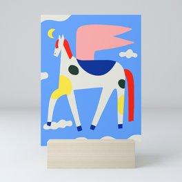 Primary Pegasus Mini Art Print