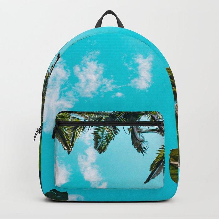 Rainforest Canopy - Tropical Blue Sky Backpack