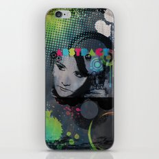 Abstract Vision iPhone & iPod Skin