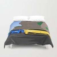 lamborghini Duvet Covers featuring Lamborghini & Bugatti by Szilárd A Legjobb