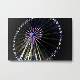 Grand Roue de Paris Metal Print
