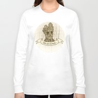 groot Long Sleeve T-shirts featuring Groot by Lynn Bruce
