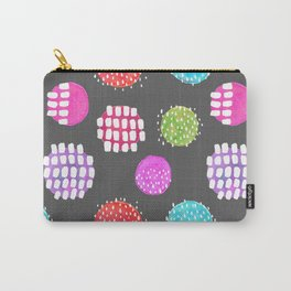 Watercolor Dots & Dashes Carry-All Pouch
