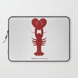 Loving Lobster Laptop Sleeve