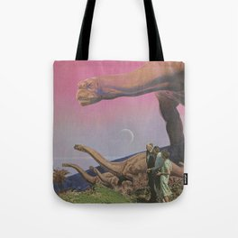 Looking at the past Tote Bag