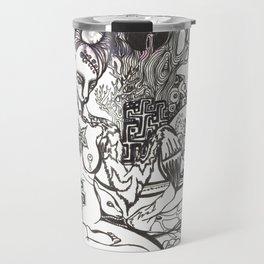 Bison Yogini ~ Fertility Travel Mug