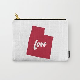 Utah Love Carry-All Pouch