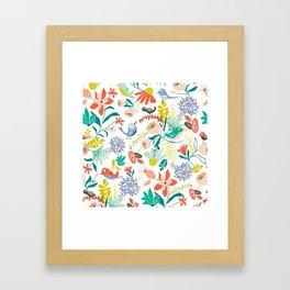 Gracie's Garden Framed Art Print