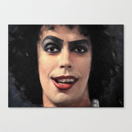 Dr. Frank N. Furter Canvas Print