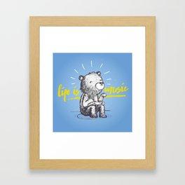 Life is Music Framed Art Print