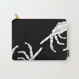 Until Death Do Us Part - Skeleton Hands Carry-All Pouch
