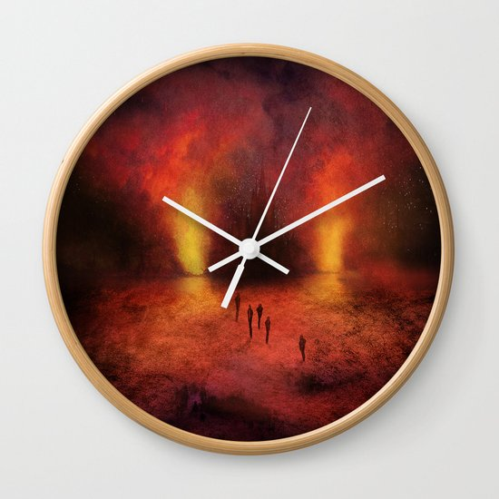 Leaving the past Wall Clock
