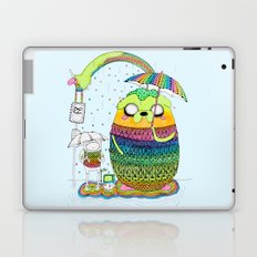 Adventure time Totoro by Luna Portnoi Laptop & iPad Skin