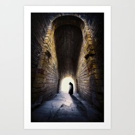 Dark Shadow Art Print
