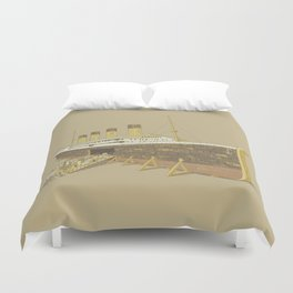 Foretold Tragedy Duvet Cover