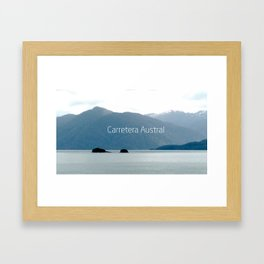Carretera Austral - Chile Framed Art Print