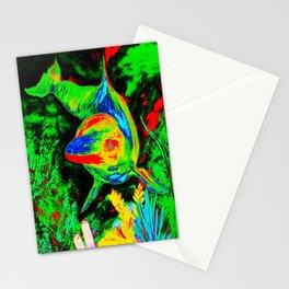 Retro Dolphin Stationery Cards