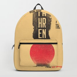 Fahrenheit 451, François Truffaut, french movie, british film, Ray Bradbury,  dystopian novel, book Backpack