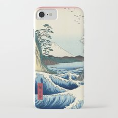 Utagawa Hiroshige - Seascape in Satta, 1858 Slim Case iPhone 7