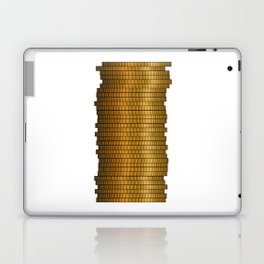 Stack Of Coins Laptop & iPad Skin