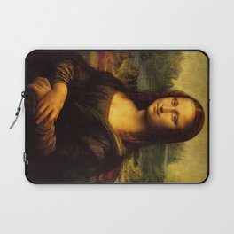 Mona Lisa - Leonardo da Vinci Laptop Sleeve