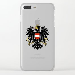Austrian Coat of Arms Clear iPhone Case