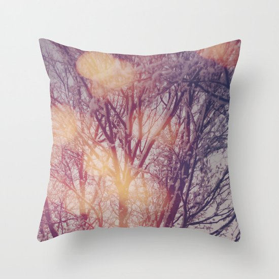 All the pretty lights (1) Throw Pillow