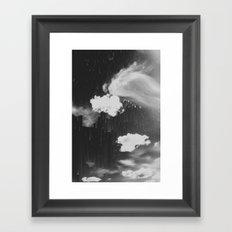 Cloudy Daze Framed Art Print