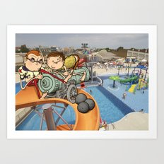 The Hammerhead Brothers, Pt 3 Art Print