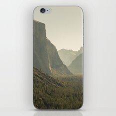 Yosemite Tunnel View iPhone & iPod Skin
