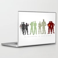 pacific rim Laptop & iPad Skins featuring Pacific Rim: We Believed in Each Other by MNM Studios