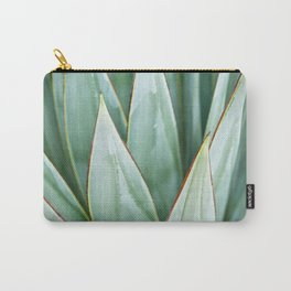 Abstract Agave Carry-All Pouch