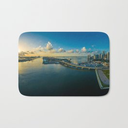 Miami Florida Bath Mat