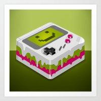 CakeBoy Art Print